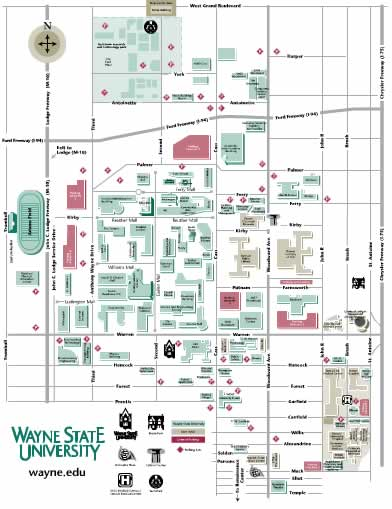 WSU Campus Map